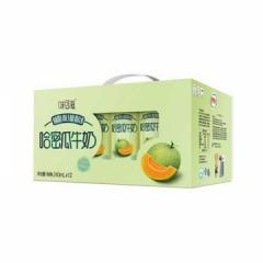 伊利味可滋--哈密瓜牛奶 240ML*12盒 买一箱送一包伊利纯牛奶(日期15天内)