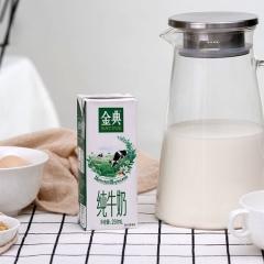 金典纯牛奶250ml*12盒/箱