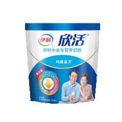 伊利欣活中老年营养奶粉400g/袋
