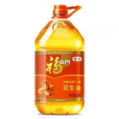 福临门浓香花生油4L/桶
