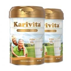 卡瑞特兹(Karivita) 新西兰原装原罐进口中老年奶 900g*2