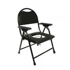 便携式铝合金折叠老人坐便椅