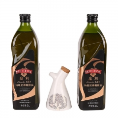 品利特级初榨橄榄油1L*2 [531555]