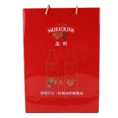 品利葡萄籽油特级初榨橄榄油礼盒1L*2 [4484]