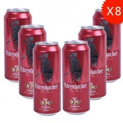 瓦伦丁烈性啤酒礼盒(500ml*8+1支啤酒杯) [89408]