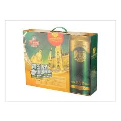 青岛奥古特12度啤酒礼盒装 500ML*10罐