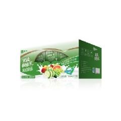 酸酸乳果蔬系列黄瓜猕猴桃味康美苗条装250ml×12盒