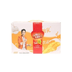 酸酸乳营养乳味饮品芒果利乐包250ml×24包