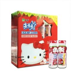 未来星妙妙营养果汁酸奶饮品(草莓味)180ml×16瓶