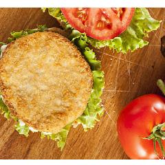 龙大汉堡肉片  1公斤/袋*12袋/箱    15.8元/袋