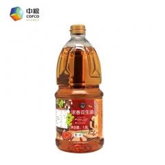 浓香花生油  1.8L*6  中粮