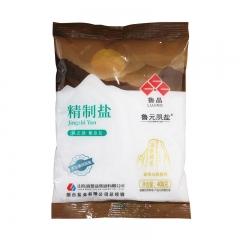 鲁晶未加碘精制盐400g*50袋/箱