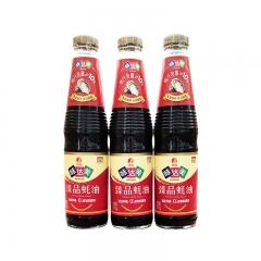 欣和味达美臻品蚝油510g*12瓶/箱