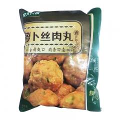 龙大萝卜丝肉丸2kg/袋*4袋/箱