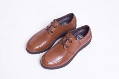 B822NL恩来得多功能健康鞋 高端男鞋 透气 牛皮圆头黑色棕色 棕色 39