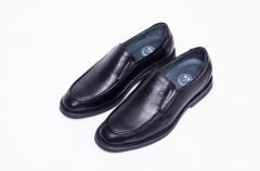 B521NL恩来得多功能保健男鞋 高端男鞋黑色棕色 纯手工定制 黑色 39