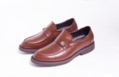 B522NL恩来得多功能保健男鞋 高端男鞋黑色棕色 纯手工定制 棕色 39
