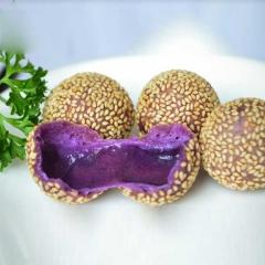 思念紫薯芝麻球     260g/袋