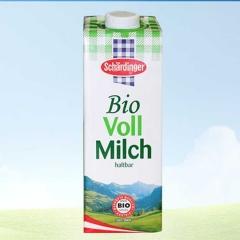斯丁格有机全脂牛奶1L 纯牛奶