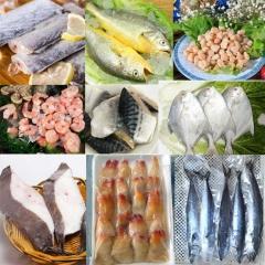 东方海洋海鲜礼盒