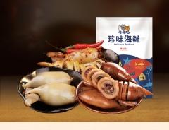 新海独立包装即食鱿鱼仔500g海鲜零食小吃墨鱼仔鱿鱼丝 500g