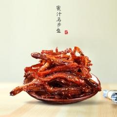新海味乐多蜜汁炸马步鱼250g烟台香辣马步鱼鱼干即食海鲜 250g