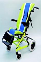 巴迪手推倾斜式轮椅