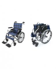 自步式可折叠轮椅