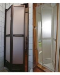 可移动沐浴门