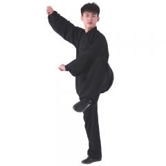棉加丝中式立领太极 服