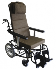 可倾斜电动轮椅