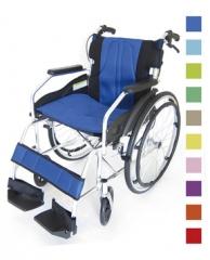 无冲孔轮胎自行式轮椅