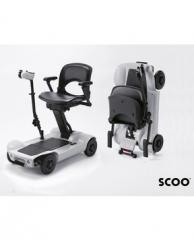 无手柄转向电动轮椅