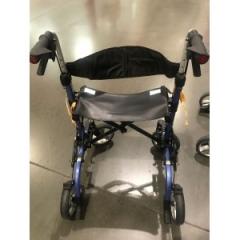 竹虎步行车代步轮椅蓝色