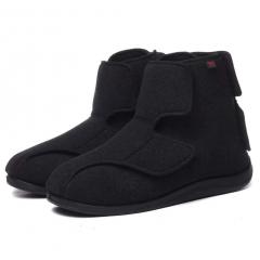 AOIREMON护理鞋 65%羊毛材质 男女通用 双重康复鞋老年人高腰