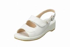 BB 5303 办公室凉鞋 女性 可调节尺寸 白色
