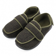 MEJORMEN 老年人舒适护理鞋 轻量透气 军绿色