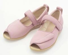 开口设计护理鞋 粉红色