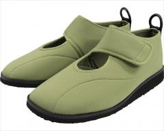 可拆卸简易护理鞋 苔绿色