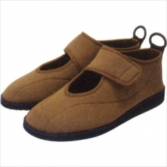 可拆卸简易护理鞋 棕色