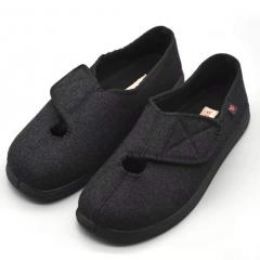 轻便老人护理鞋 黑色