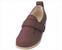 室内护理鞋 女鞋 暗红色