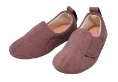 室内宽口护理鞋 紫色