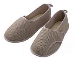 粘扣设计护理鞋 常规海军蓝 灰色 码数留言