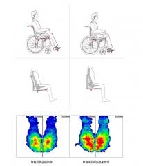 互邦电动轮椅HBLD1-B 越野铝合金超轻便铅酸电池折叠老年人代步车