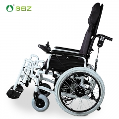 贝珍电动轮椅BZ-6103 高靠背 自动调节抬腿