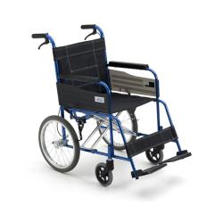MIKI三贵手动轮椅 MC-43K铝合金老人折叠轻便免充气轮椅