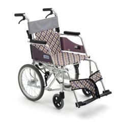三贵MiKi MOCC-43JL DX 航太铝合金轮椅车