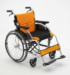 三贵MIKI手动轮椅车MCS-43JL 轻便折叠航钛合金/靠背可折叠