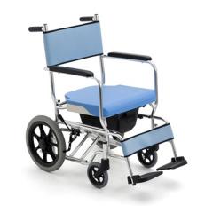 MIKI三贵 三合一轮椅 MOCC-43带坐便器 出行\沐浴\如厕可拆卸